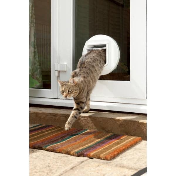 huisdierenluik kattenluik verbeterde versie glasbevestigingsset voor sureflap